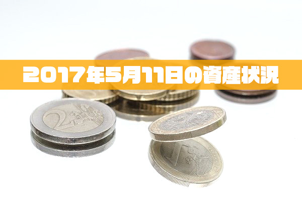 2017年5月11日の資産状況【33,654,035円】