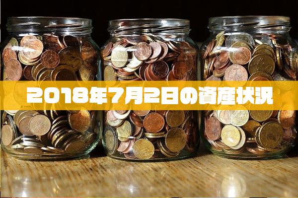 2018年7月02日の資産状況【24,074,698円】